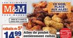 Circulaire Aliments M&M du 25 Février au 3 Mars 2021