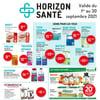 Image de la Promotion Circulaire Horizon Santé du  1 au 30 septembre 2021