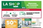 Circulaire BMR - La Shop du 4 au 10 Mars 2021