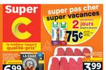 Circulaire Super C du 15 au 21 juillet 2021