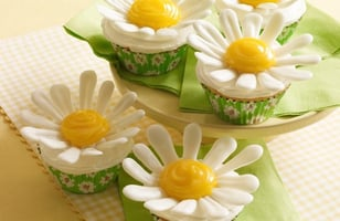 Photo Recette Coming Up Daisies Cupcakes