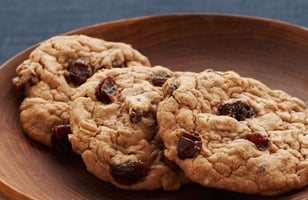 Photo Recette Spicy cookies Oatmeal Raisin