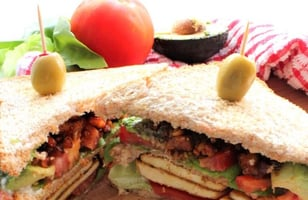 Photo Recette Club Sandwich Vegan