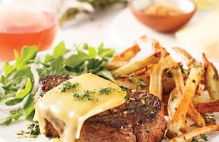 Photo Recette Filet Mignon au Fromage et Épices à Steak