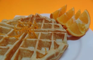 Photo Recette Gaufres à L'orange