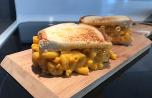 Photo Recette Grilled Cheese Macaroni