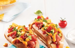Photo Recette Hot-dog Nacho