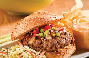 Photo Recette Burgers au Porc Barbecue