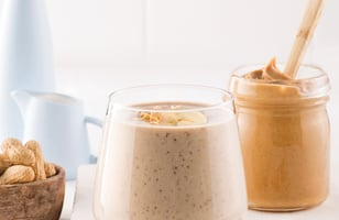 Photo Recette Smoothie Banane-arachide