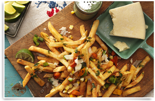 Photo Recette Superfries Fiesta Mexicaine
