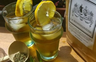 Photo Recette Tisane Glacée Menthe Gingembre