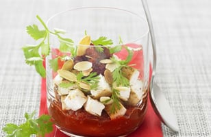 Photo Recette Verrine Tomate Feta