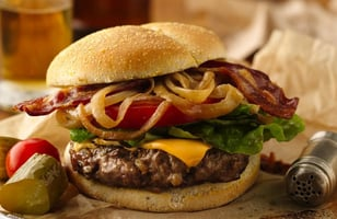 Photo Recette Burger de Dinde d'Alexis le Gourmand
