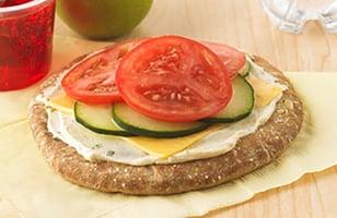Photo Recette Pita Pizza aux Légumes