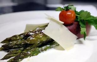 Photo Recette Asperges au Speck et Parmesan