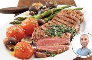 Photo Recette Biftecks de Contre-filet à la Sauce Chimichurri de Stefano Faita