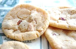 Photo Recette Cookies Chocolat Blanc et Noix de Pécan