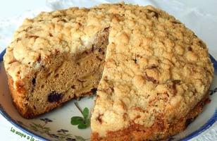Photo Recette Gâteau Crumble aux Pommes Irlandais