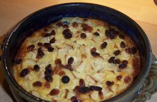 Photo Recette Gâteau de Pommes aux Raisins