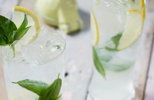 Photo Recette Mojito Citron et au Basilic de Monsieur Cocktail
