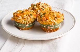 Photo Recette Muffins à la Citrouille et au Granola