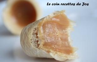 Photo Recette PETITS CORNETS AU SUCRE À LA CRÈME