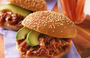 Photo Recette Sandwichs de Porc Effiloché Cuit à la Mijoteuse et Chipotle
