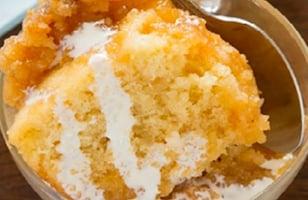Photo Recette Un Savoureux Pouding au Sucre à la Crème