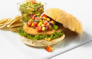 Photo Recette Burger de Poulet Mexicain