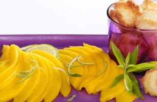 Photo Recette Carpaccio de Mangue et Congolais