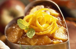 Photo Recette Ananas Confit Saint-Valentin
