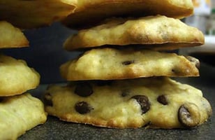 Photo Recette Banana & Chocolate Chips Cookies