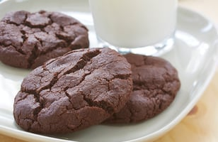 Photo Recette BISCUITS DOUBLE CHOCOLAT