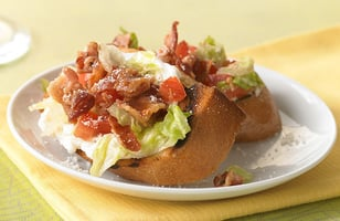 Photo Recette Bruschettas BLT