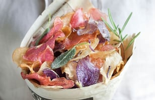 Photo Recette Chips Arc-en-Ciel