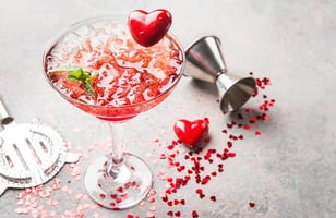 Photo Recette Cocktail Saint-Valentin