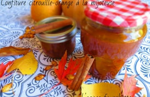 Photo Recette Confiture Citrouille-orange à la Mijoteuse