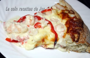 Photo Recette MA PIZZA AUX FRUITS DE MER
