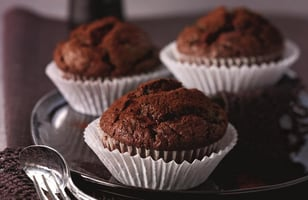 Photo Recette Muffins Chocolat & Courgette