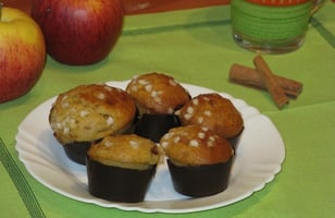 Photo Recette Muffins Pommes-Cannelle Deluxe