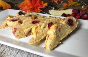 Photo Recette Pain Fromage et Canneberges