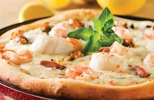 Photo Recette Pizza aux Fruits de Mer