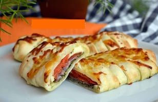Photo Recette Pizza Calzone 100% Italienne
