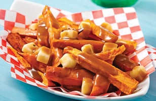 Photo Recette Poutine de Patates Douces au Monterey Jack