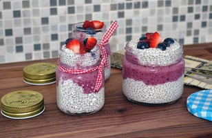 Photo Recette Pudding de Chia au Smoothie