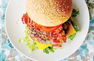 Photo Recette Succulents Burgers BLT