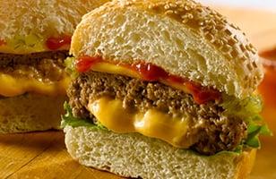 Photo Recette Burger Farci au Fromage de Heinz