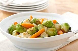 Photo Recette Légumes Bruxellois au Vinaigre Balsamique