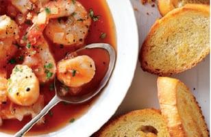 Photo Recette Ragoût de Fruits de Mer à L'italienne