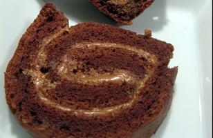 Photo Recette Gâteau Roulé à la Mousse au Chocolat